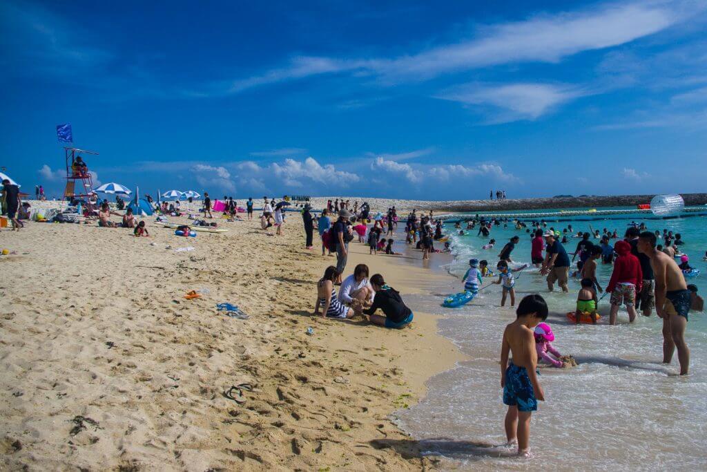 7月來沖繩就是要去海灘