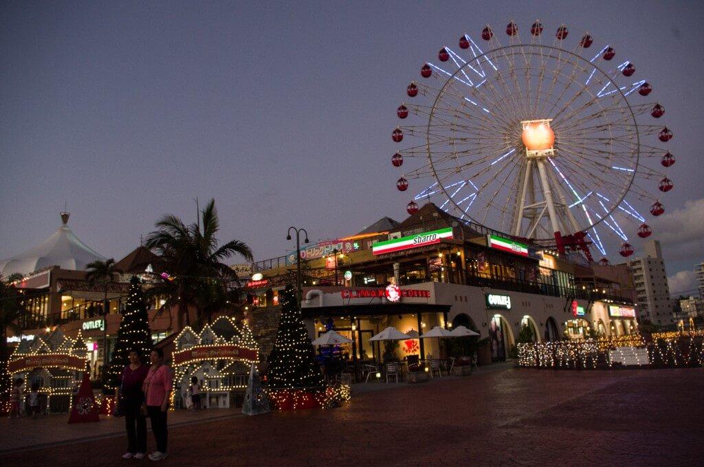 沖繩美國村12月開始會有點燈活動