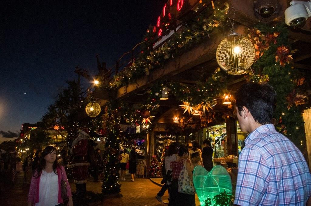 沖繩|美國村聖誕過年點燈x感受美式的聖誕風情