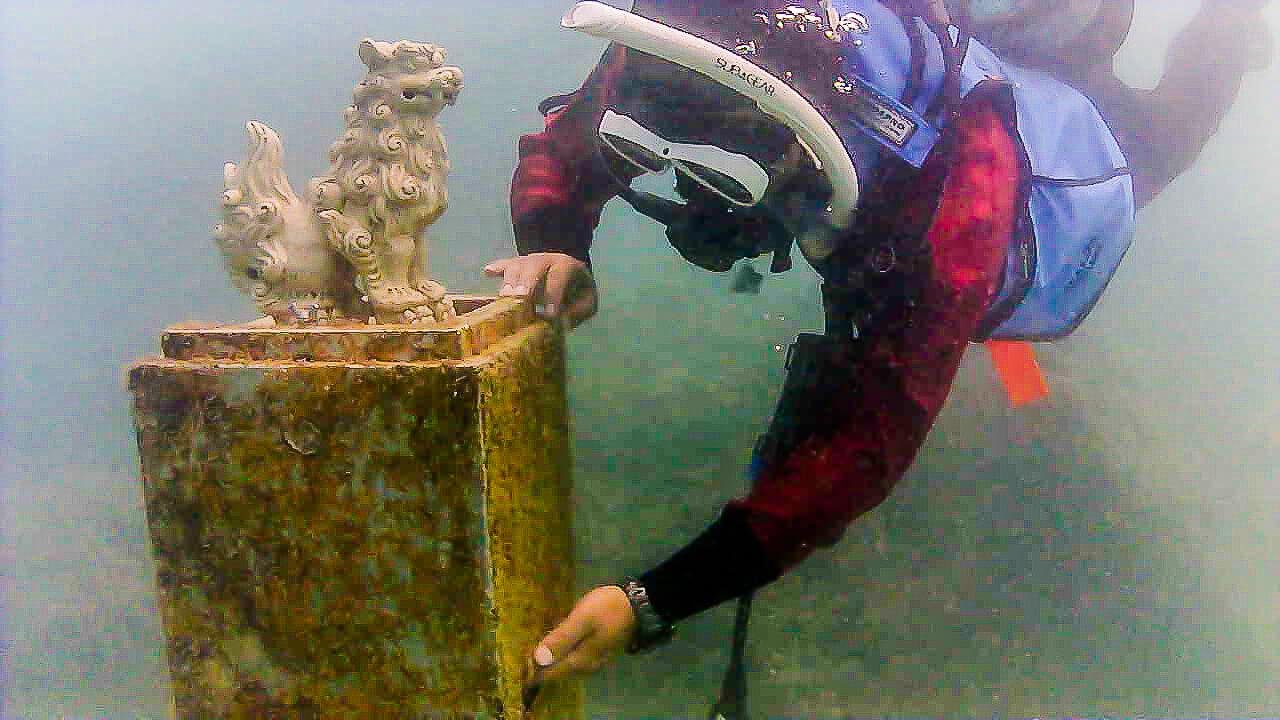 來沖繩潛水