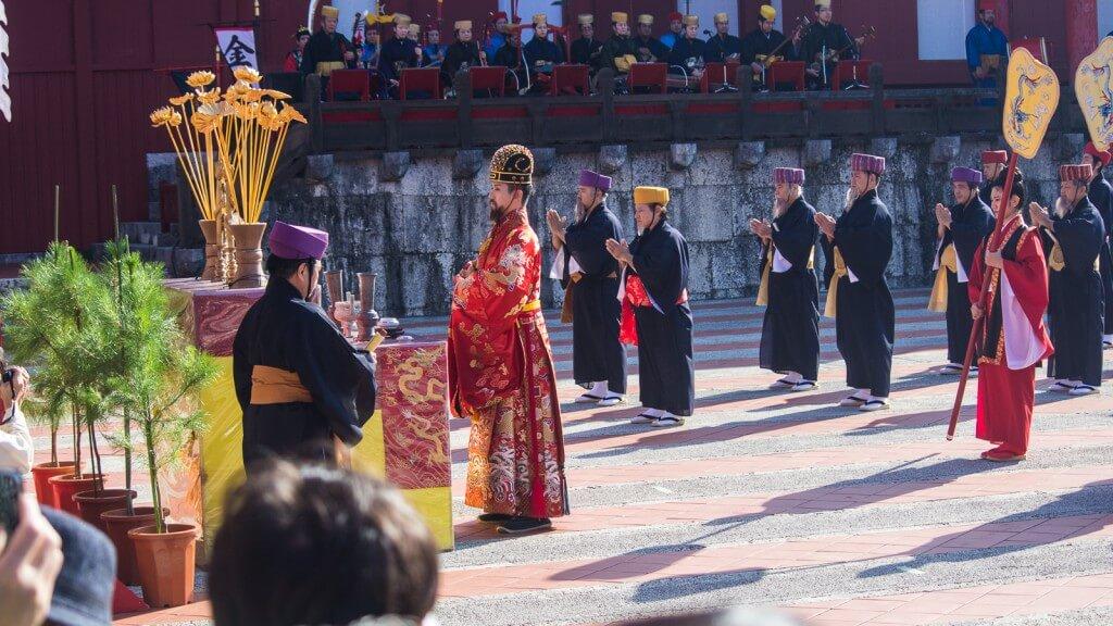 沖繩|一年一度的首里城新春之宴x國王親自向你拜年