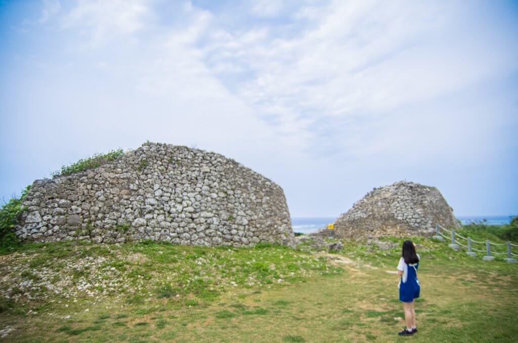 沖繩|日本國境之南!易守難攻的海上要塞「具志川城跡」