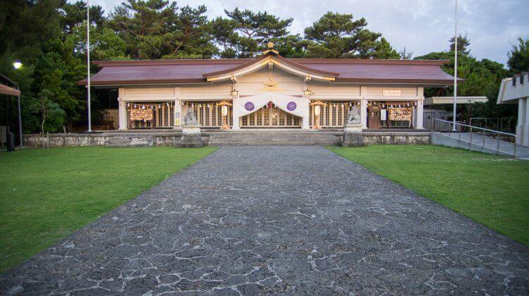 【沖繩神社】奧武山護國神社