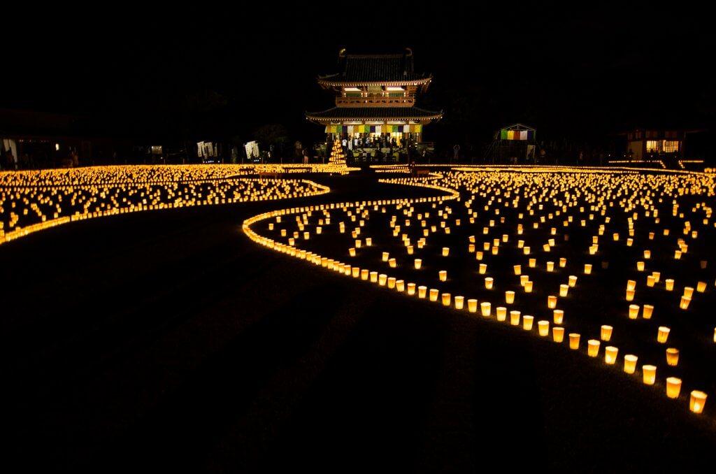 茨城|潮音寺萬燈會x鄉村點燈祈福