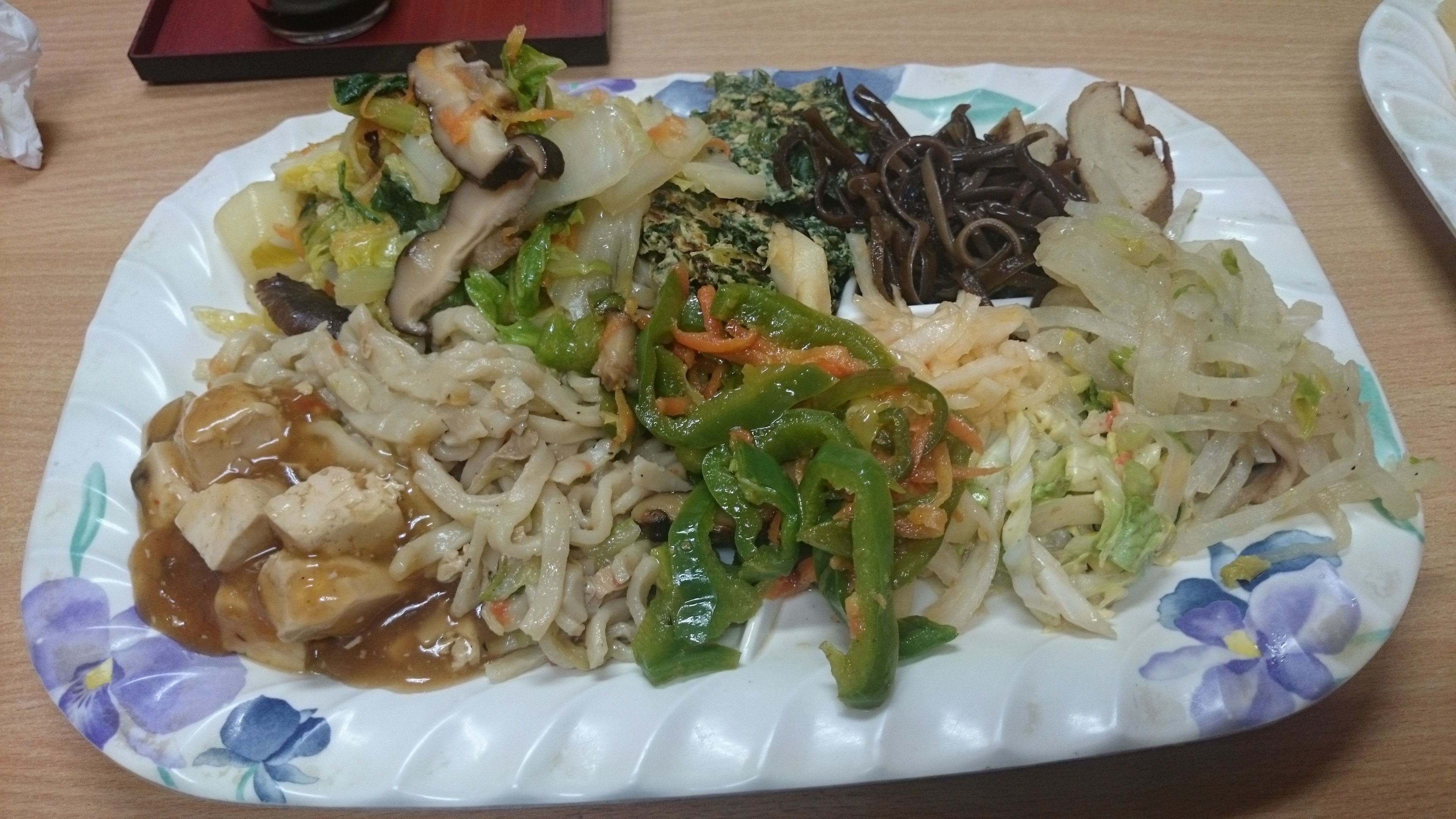 沖繩素食金壺食堂餐盤