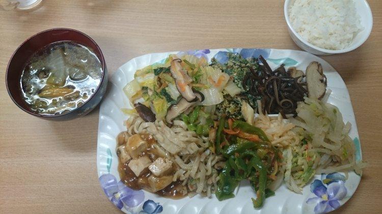 【沖繩素食】 健康家庭式素食吃到飽x金壺食堂
