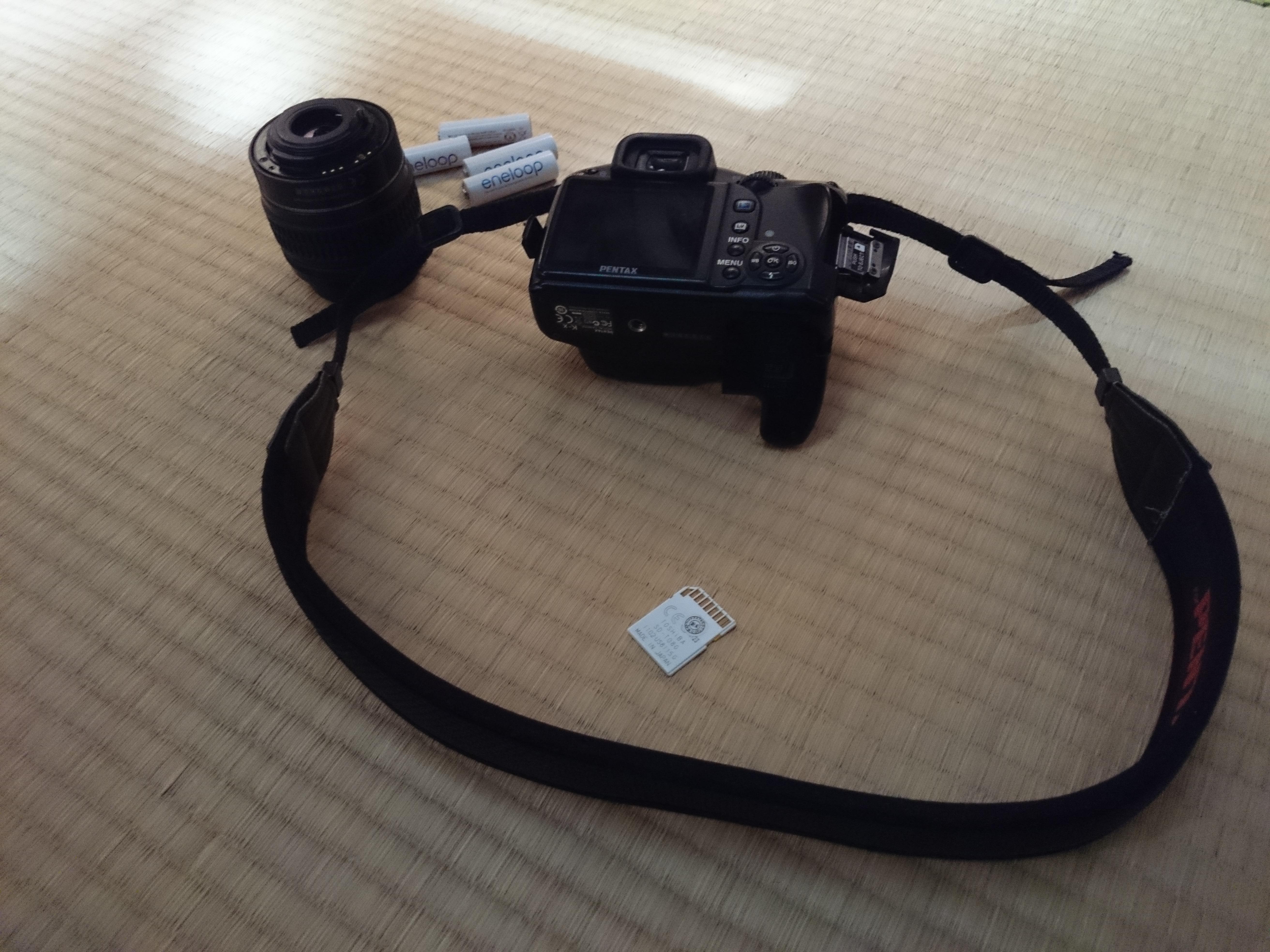 浮潛浸水的相機