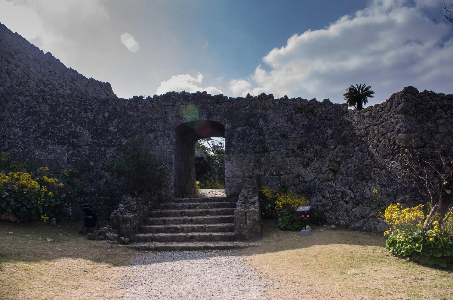中城城跡石垣
