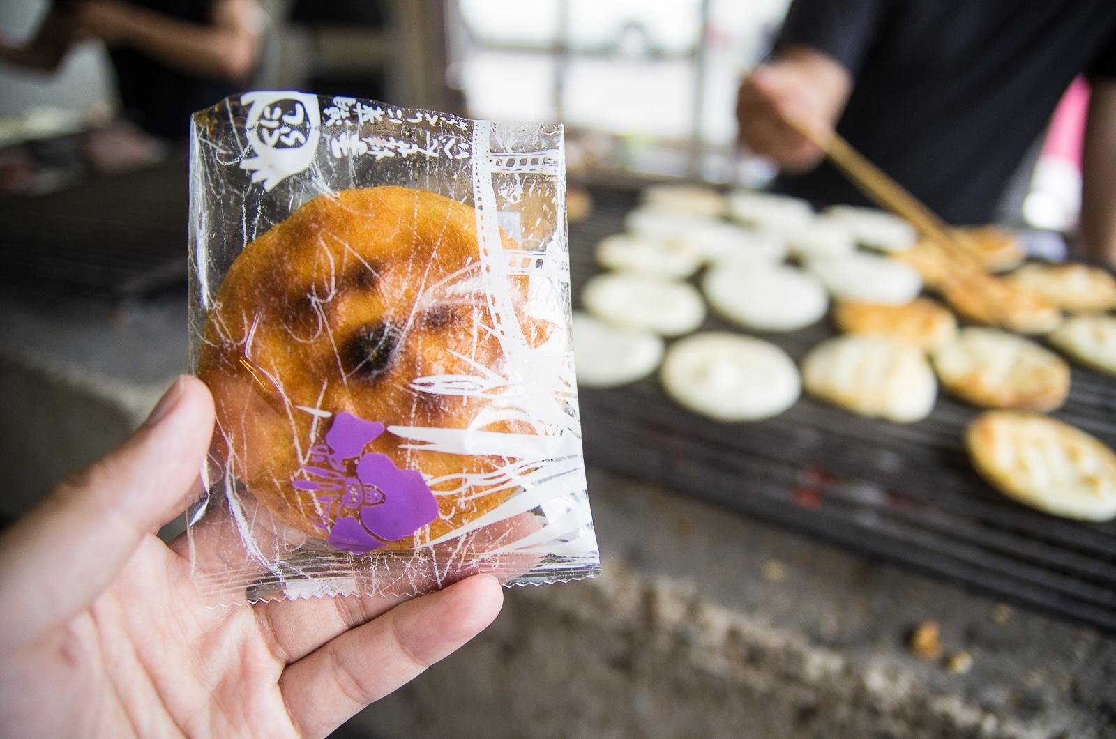 潮來西倉手烤仙貝