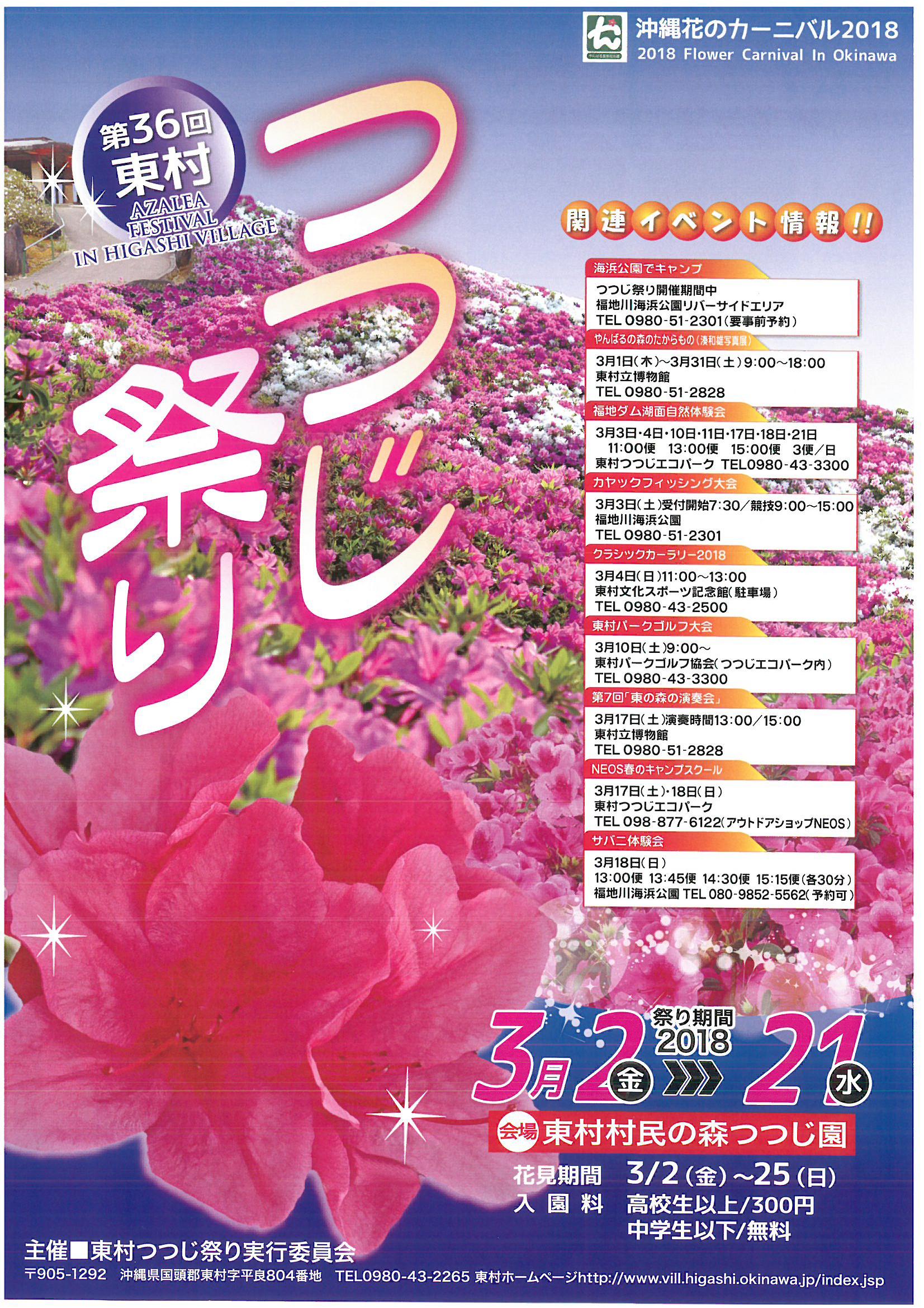 沖繩東村杜鵑花祭