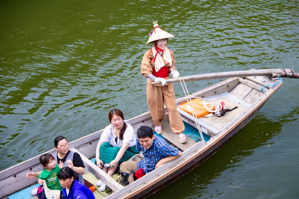 水鄉潮來獨木舟體驗