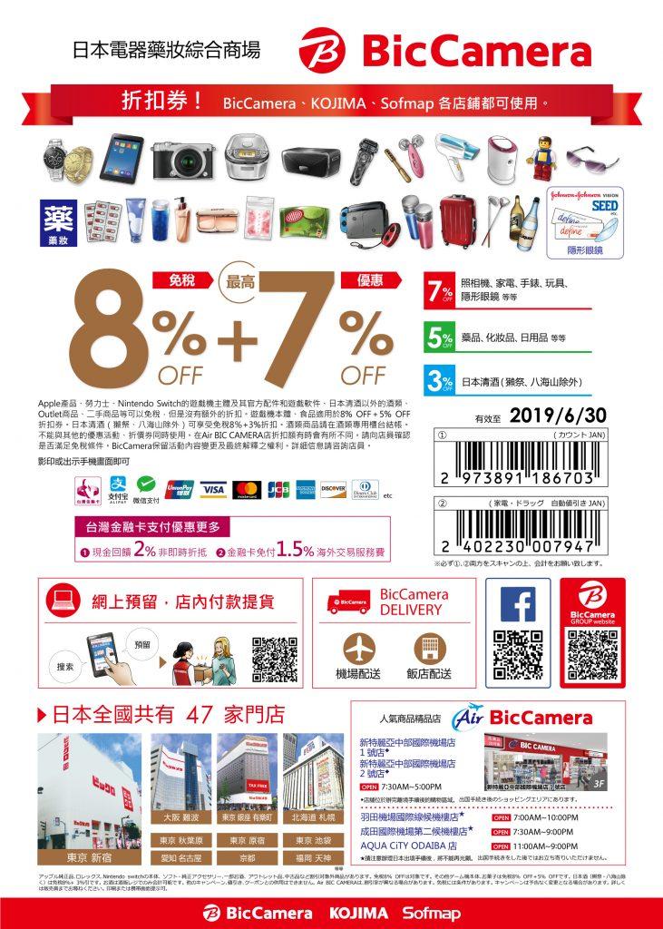 沖繩BIC CAMERA【最新優惠券連結】電器、藥妝、玩具一次買齊!