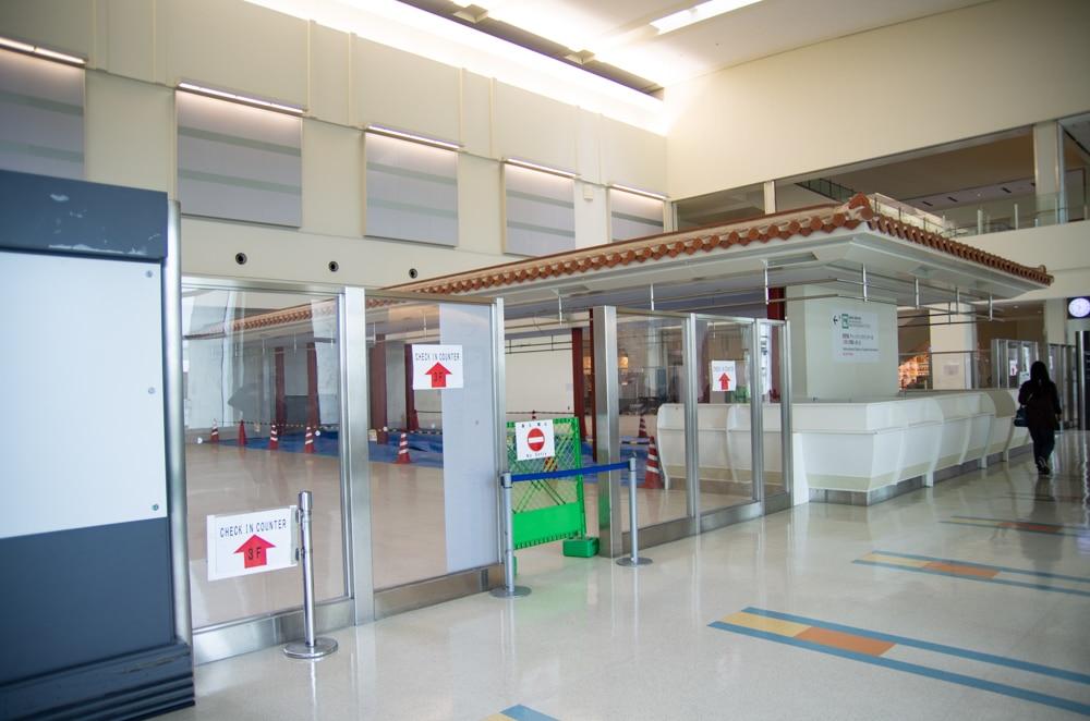 沖繩那霸機場2樓