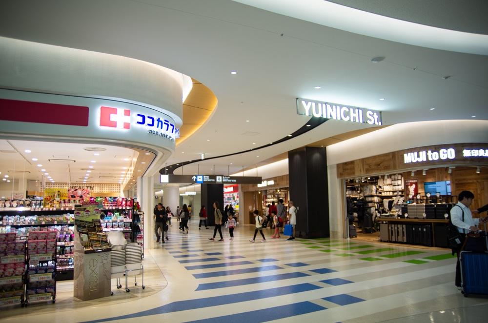 沖繩那霸機場新航廈商區