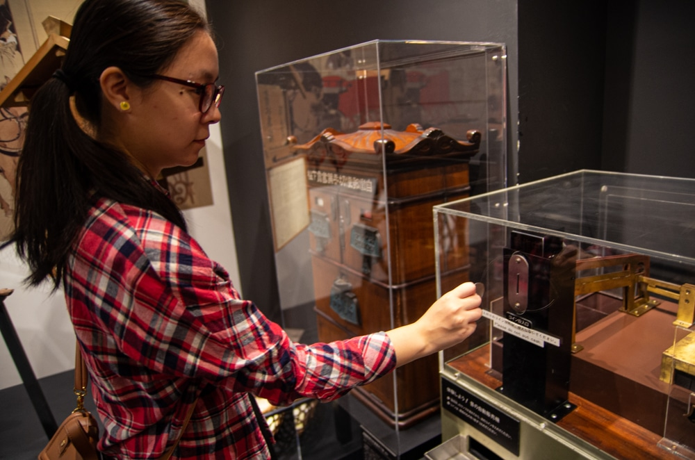 早期郵票自動販賣機
