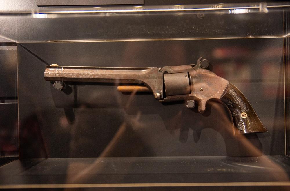 早期日本郵政人員配槍