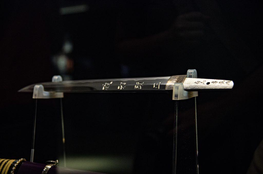 初號機的短刀也會刻名字