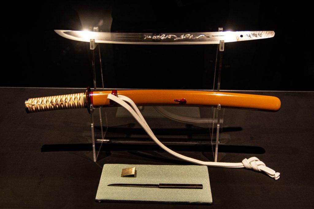 綾波零專用日本短刀