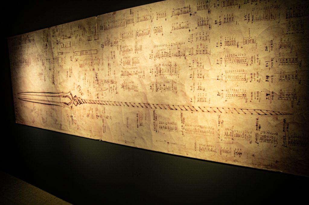 朗基努斯之槍設計圖