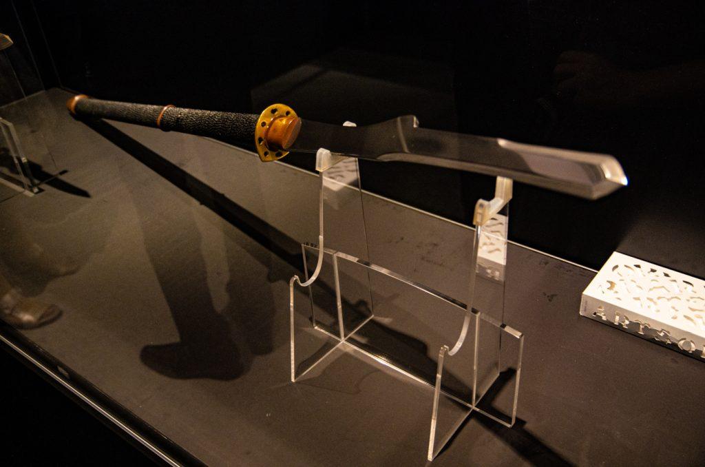 初號機專用長槍