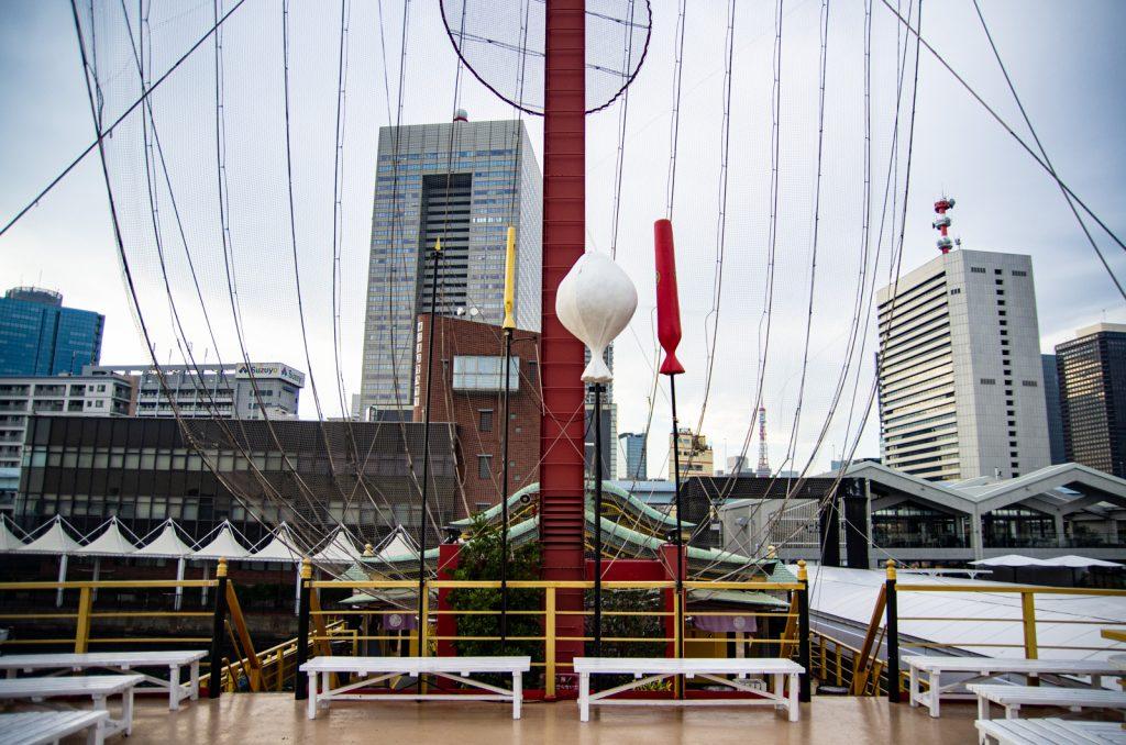 東京遊覽船安宅丸甲板