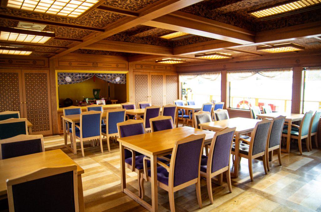 東京遊覽船安宅丸餐廳