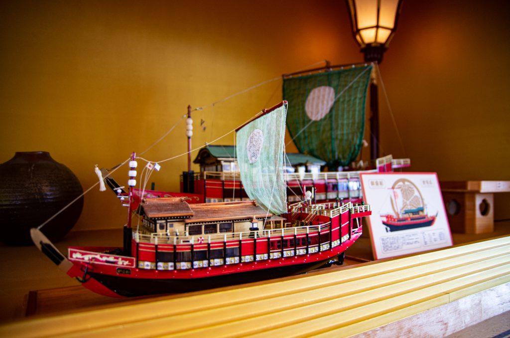 東京遊覽船安宅丸模型