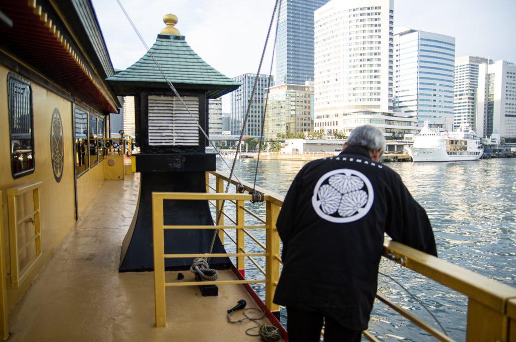 東京遊覽船安宅丸船員
