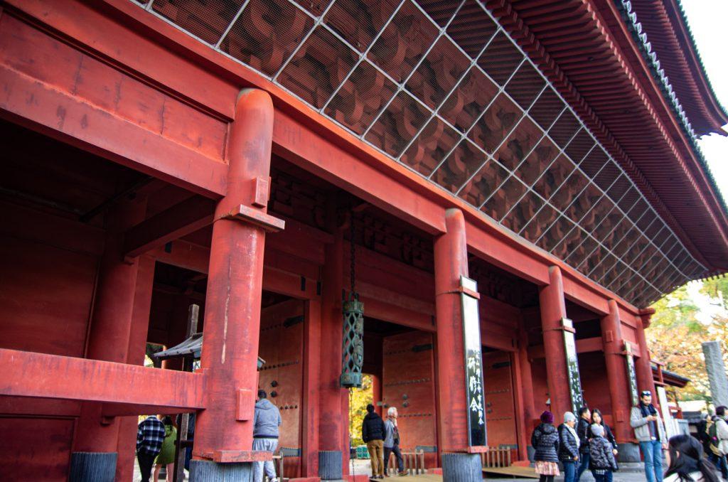 增上寺入口