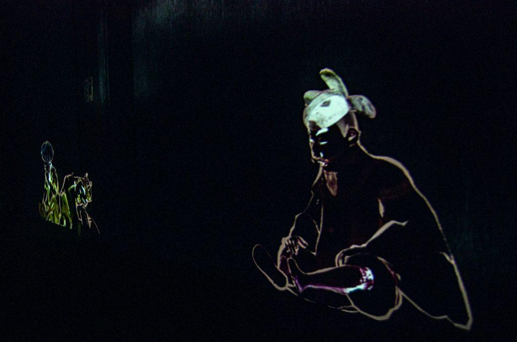 teamLab Borderless數位藝術美術館古人造景