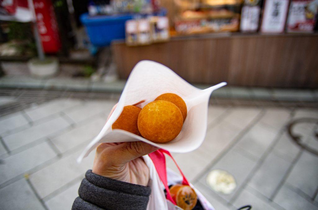 江之島吻仔魚麵包