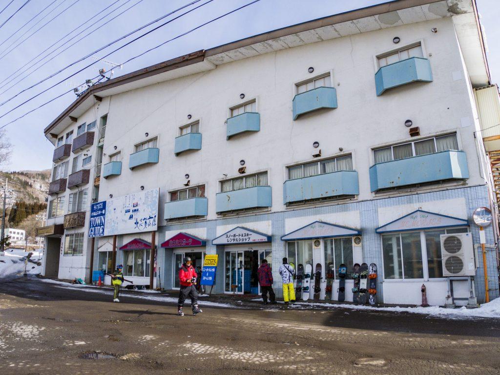 北志賀Grand Hotel West飯店外觀