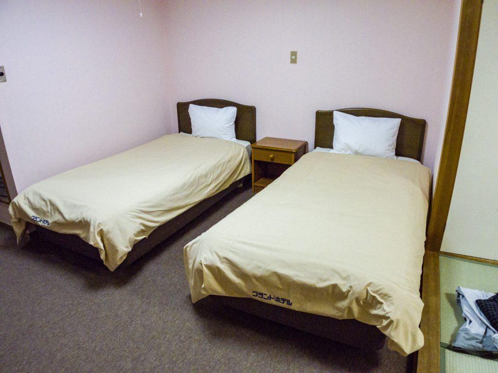 北志賀Grand Hotel West飯店房間床位