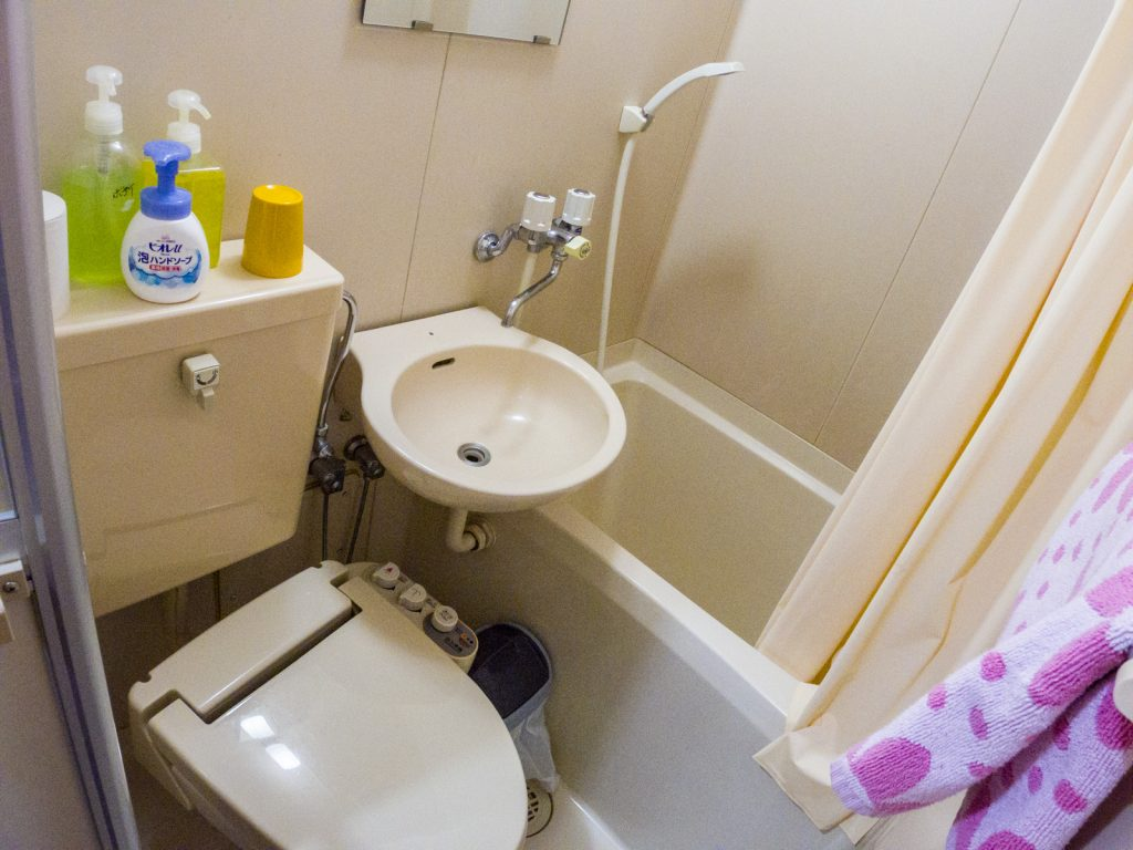 北志賀Grand Hotel West飯店房間廁所