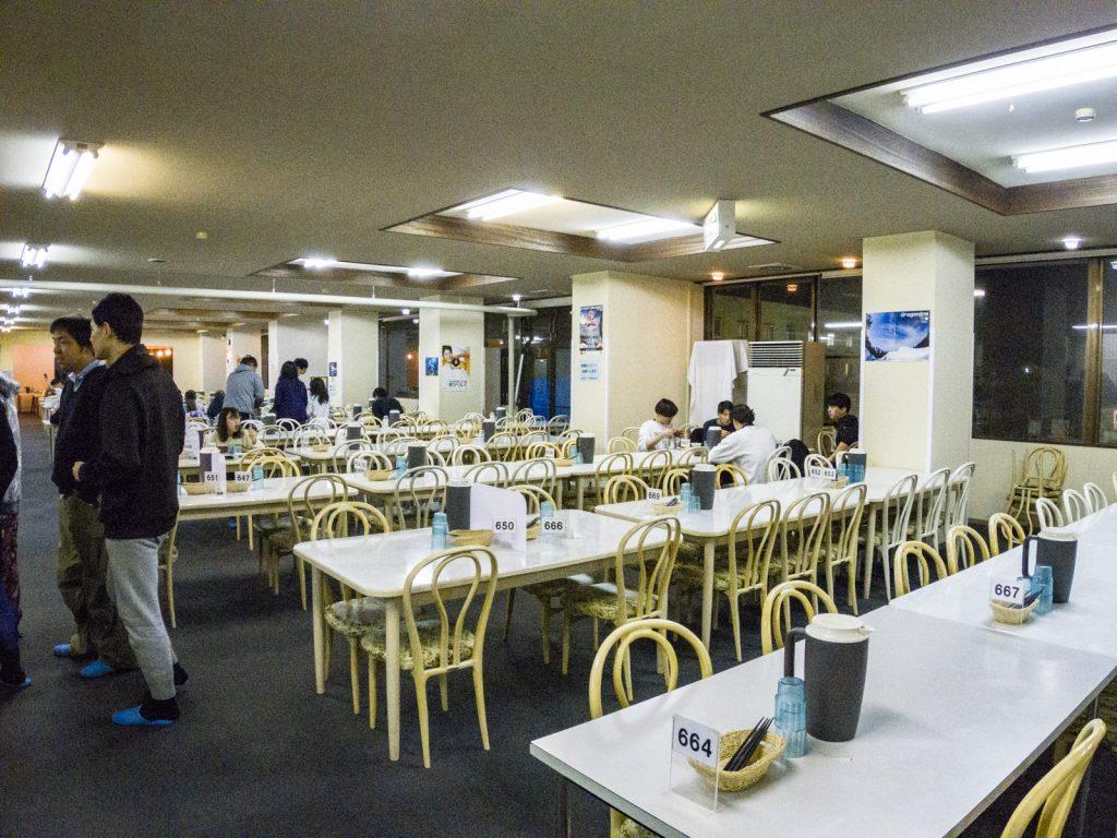 北志賀Grand Hotel West飯店餐廳