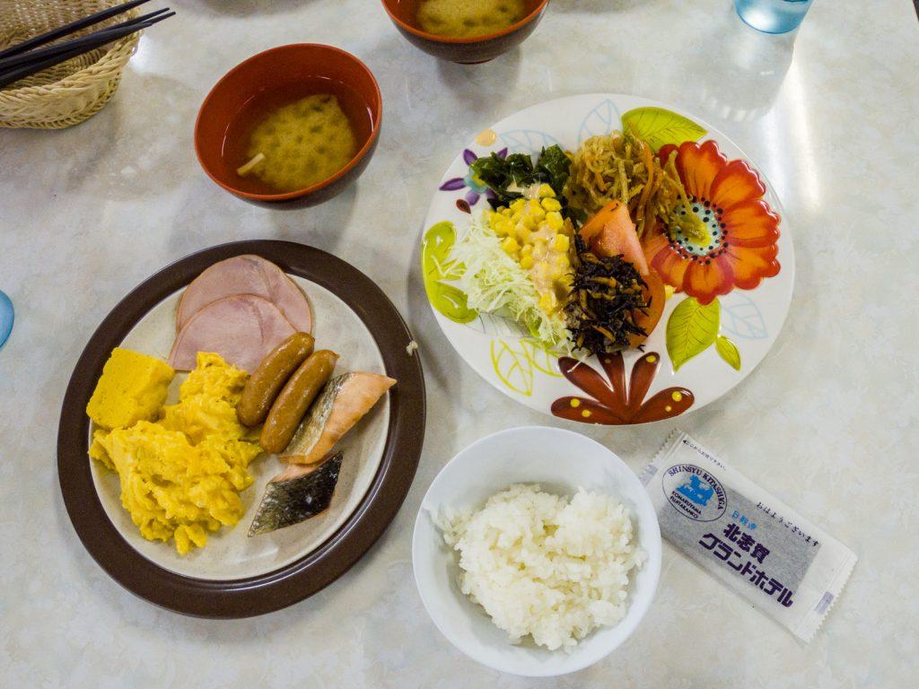 北志賀Grand Hotel West飯店早餐