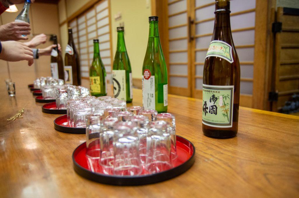 佐久飯店提供的日本酒