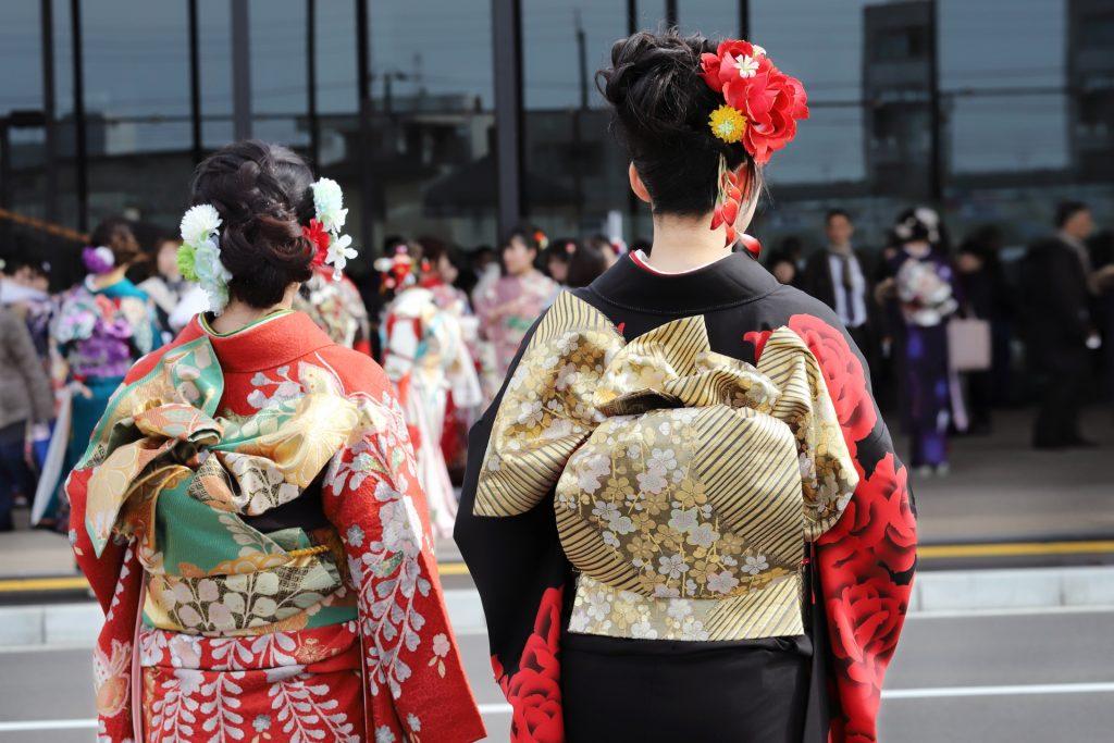 日本成人式的女性
