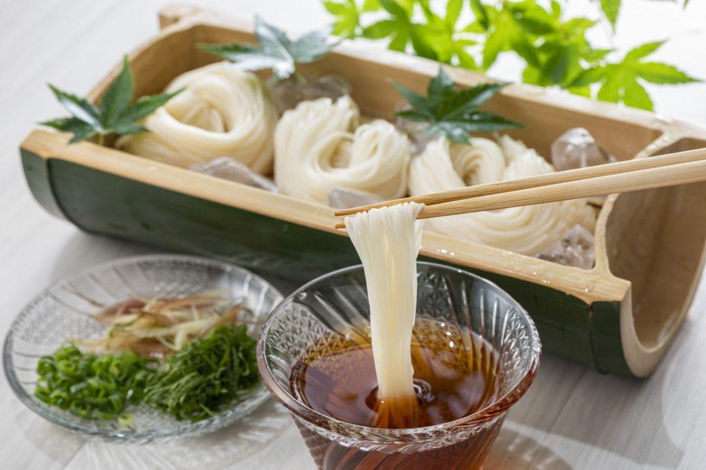 日本七夕食物「素麵」